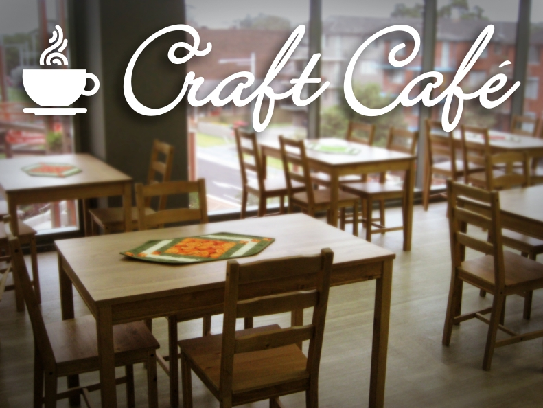Welcome to the craft cafe at Hobbysew Top Ryde City
