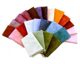 A rainbow of colours