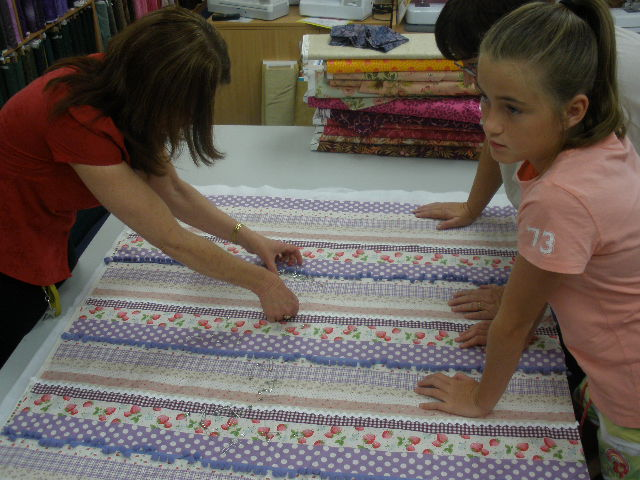 Children's classes at Hobbysew Figtree