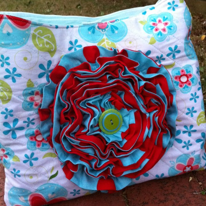 Blooming Bag - fabulous fabrics for a summery bag