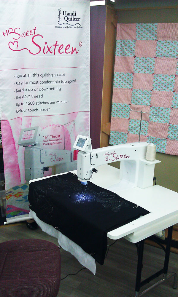 Hobbysew Blog 187 Blog Archive 187 Our New Handi Quilter