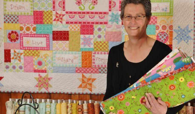 Linda White Gum Valley Patchwork.