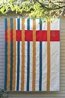Modern Strips by Alissa Haight Carlton from International Quilt Festival