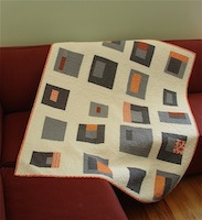 Orange Crush by Jacquie Gering from International Quilt Festival