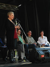 The Hon Bronwyn Bishop MP at last years show